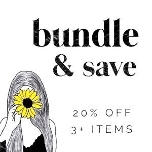 Other - BUNDLE 3+ ITEMS = 20% OFF